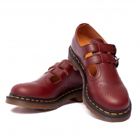 Dr Martens 8065 Mary Jane Cherry Red Original